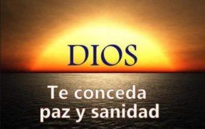 DIOS SANIDAD