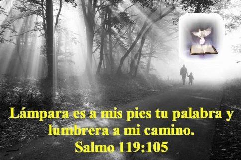 Lumbrera a mi camino SALMO 119