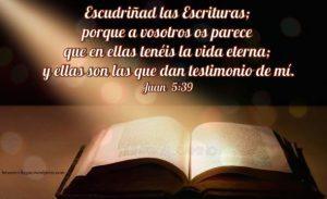 Las Sagradas Escrituras son el único libro en el mundo que revela de una manera categórica, segura y sin lugar a dudas, la existencia de una vida eterna, beatífica y gloriosa en las mansiones del Padre
