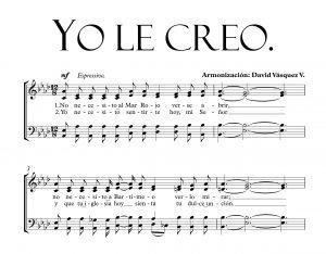 YO LE CREO