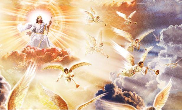 Por tanto, nosotros todos, mirando a cara descubierta como en un espejo la gloria del Señor, somos transformados de gloria en gloria en la misma imagen, como por el Espíritu del Señor el arrebatamiento