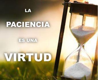el propósito de la paciencia, es aguardar el cumplimiento de las promesas de Dios