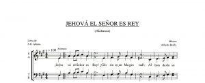JEHOVÁ EL SEÑOR, ES REY.