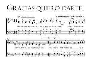 GRACIAS QUIERO DARTE
