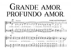 GRANDE AMOR, PROFUNDO AMOR.