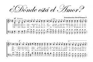 DÓNDE ESTÁ EL AMOR.