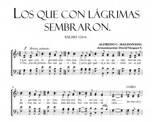 LOS QUE CON LÁGRIMAS SEMBRARON.