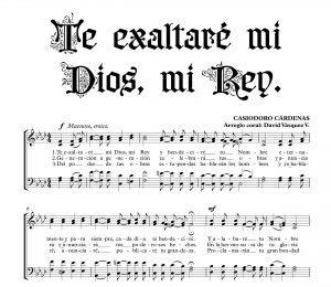 TE EXALTARÉ MI DIOS Y REY