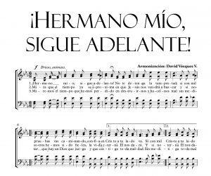 ¡HERMANO MÍO, SIGUE ADELANTE!