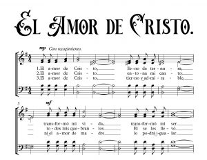 EL AMOR DE CRISTO.