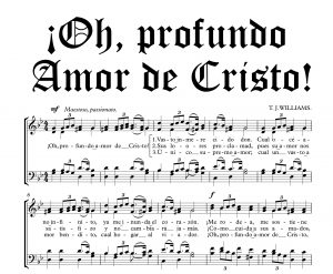 ¡OH, PROFUNDO AMOR DE CRISTO!
