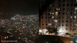 """Cristianos cantan """"Porque Él vive"""" durante cuarentena en Brasil (Vídeo)"""