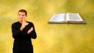 Cuba: Traducen por primera vez la Biblia a lengua de signos