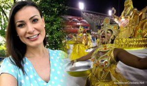 """Ex modelo brasileña: """"Sólo Dios puede llenar el vació de tu corazón, no el Carnaval"""""""