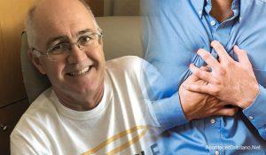 """Hombre vuelve a la vida tras sufrir paro cardíaco: """"Soy un milagro de Dios"""""""