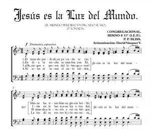 JESÚS ES LA LUZ DEL MUNDO.