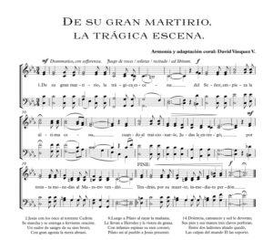 DE SU GRAN MARTIRIO