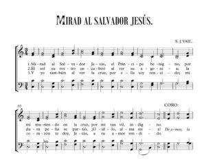 MIRAD AL SALVADOR JESÚS.