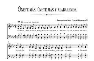 ÚNETE MÁS Y ALABAREMOS.